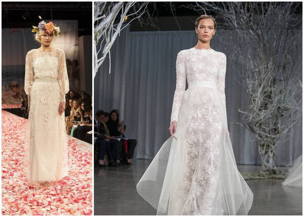Turtle Neck Wedding Gowns: Fall 2013 New York Bridal Market Viva Bella Events