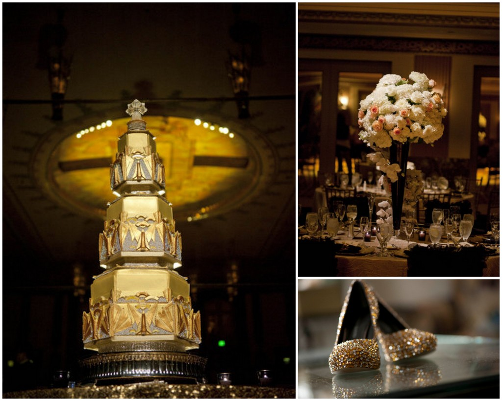 viva bella events | Cincinnati Wedding Planner | Art Deco