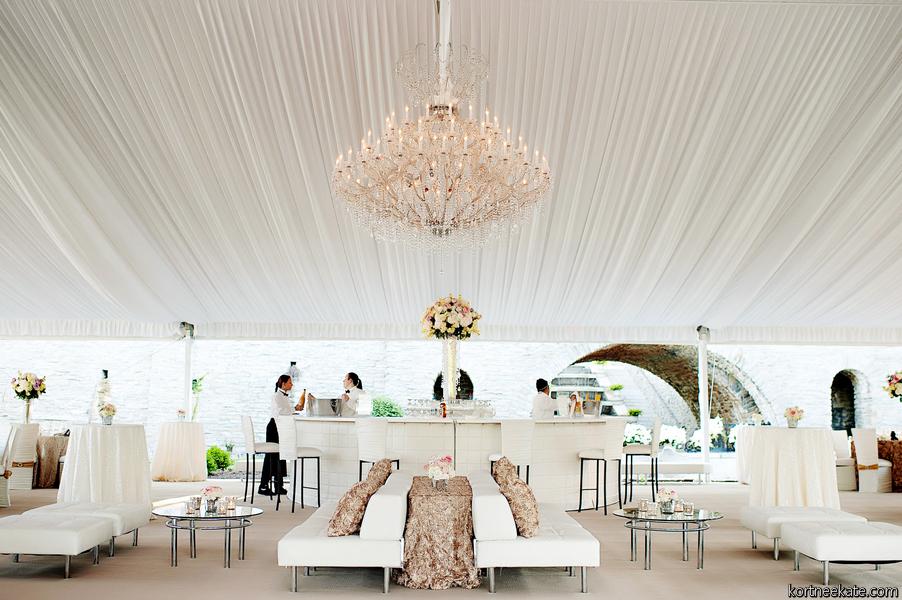 Camargo Rentals   viva bella events   Dora Manuel   white leather tufted bar   custom bar   white wedding