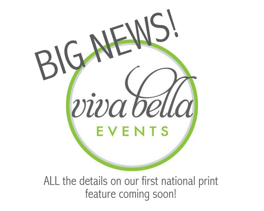 viva bella events, Cincinnati Wedding Planner, national magazine