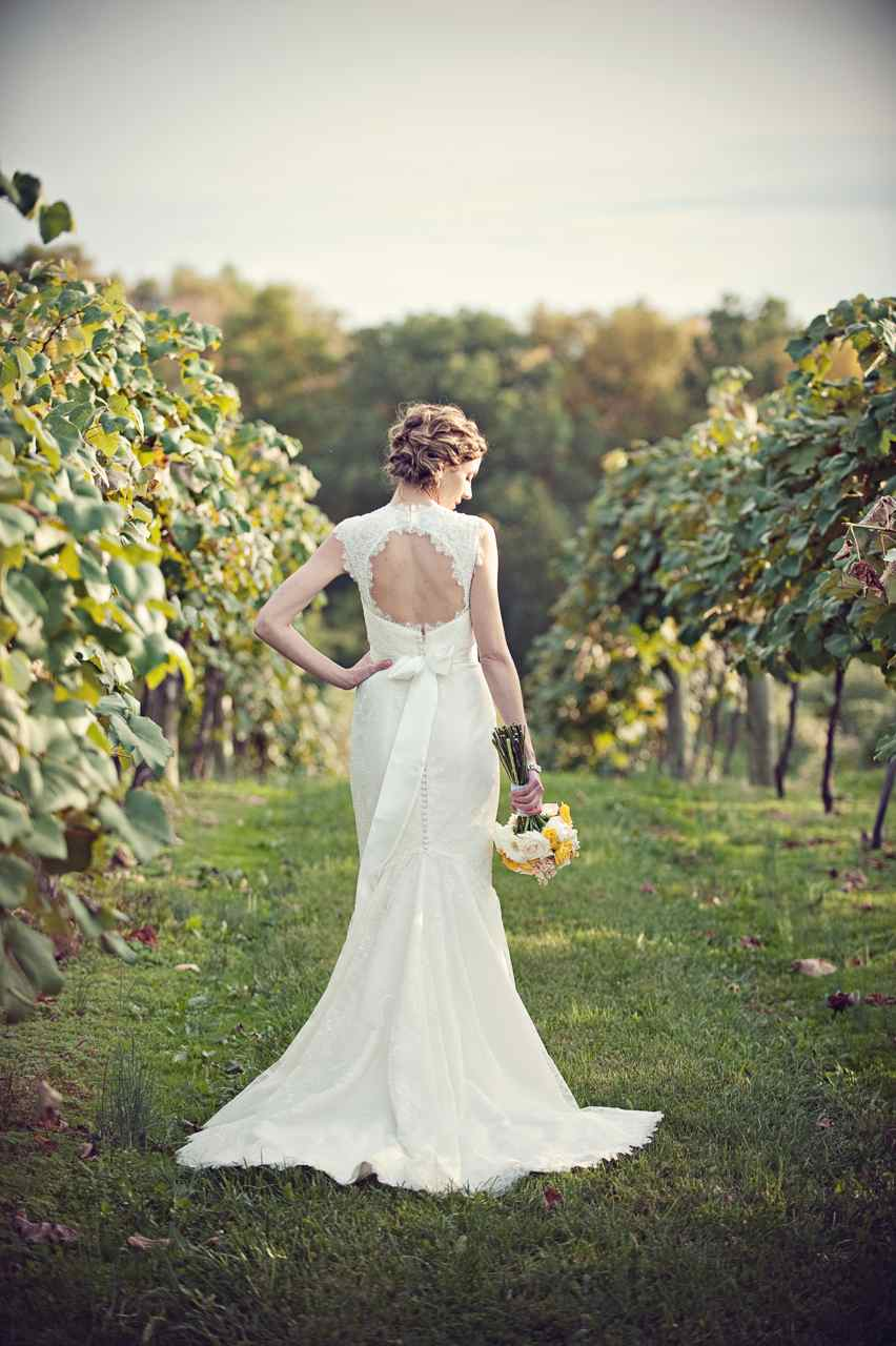 Vineyard Wedding Dresses